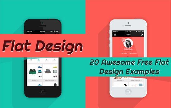 Flat Design: 20 Awesome Free Flat Design Examples