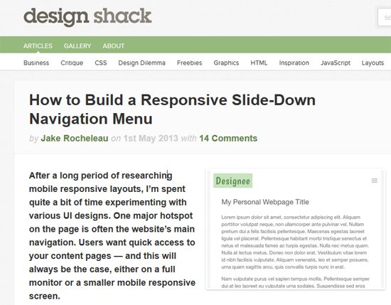 responsive design tutorial