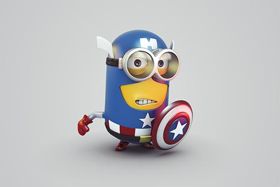 Minion Avengers images