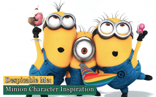 Despicable Me: Minion Character Inspiration