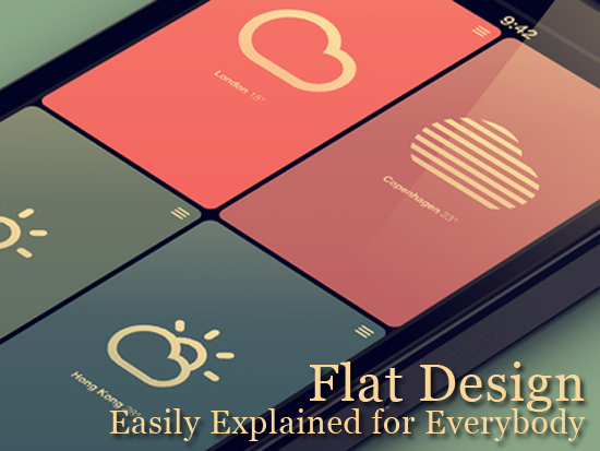 Flat Design Easily Explained for Everybody