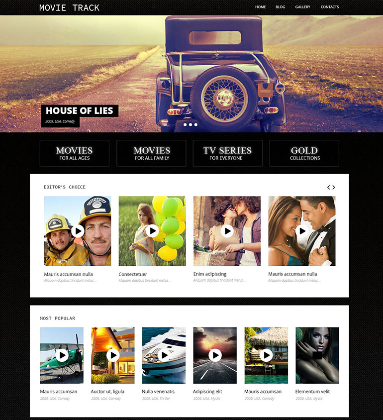 20 coolest movie templates