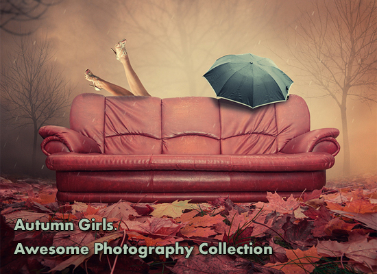 Autumn Girls. Awesome Photography Collection