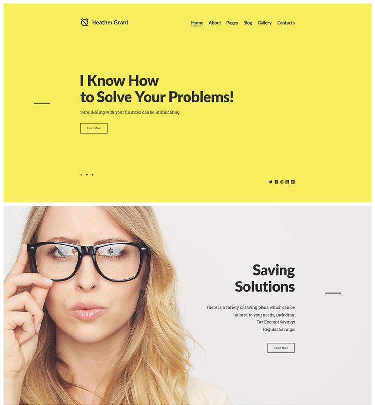parallax scrolling website templates