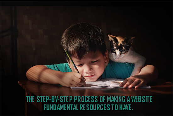 Fundamental Resources to Have. The Step-by-Step Process of Making a Website: Lesson 5
