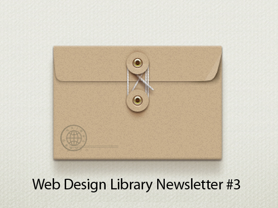 Web Design Library Newsletter #3