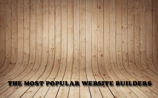 The Most Popular Website Builders
