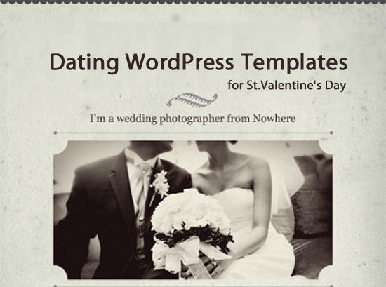 Dating WordPress Templates for St. Valentine's Day