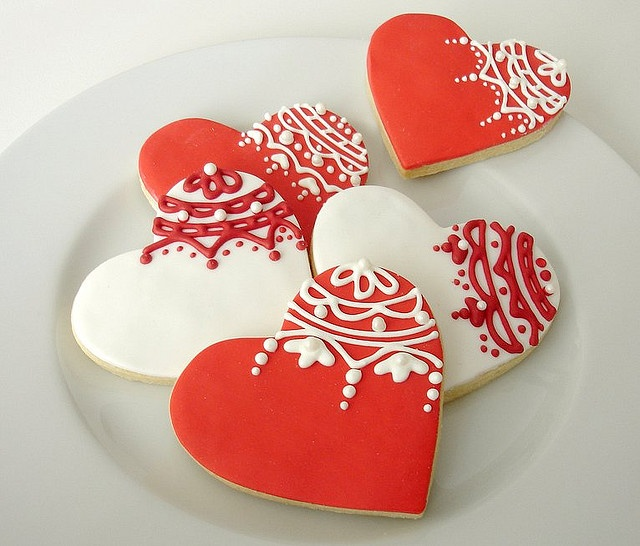 St. Valentine's Day cookies