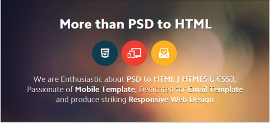 The Most Popular PSD to HTML Services