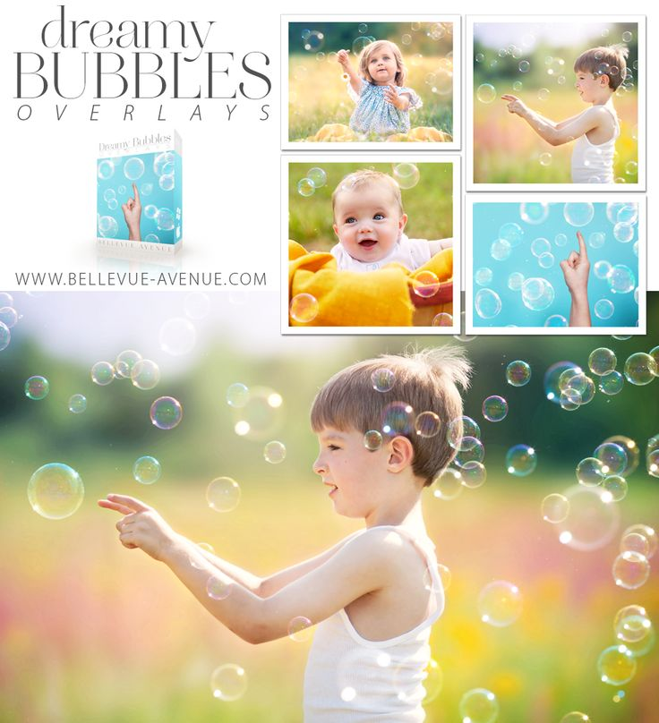 DREAMY BUBBLES OVERLAYS
