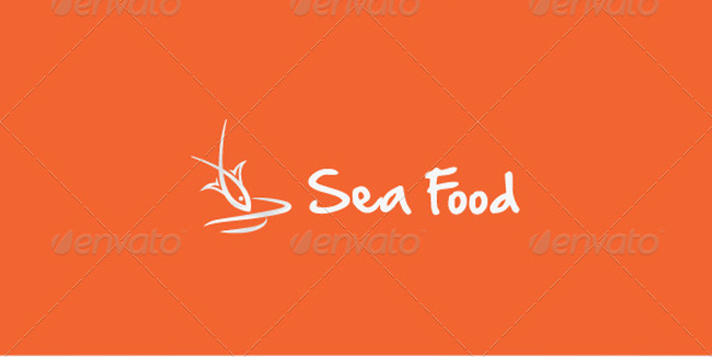 food logo Sea Food Stock Logo Template