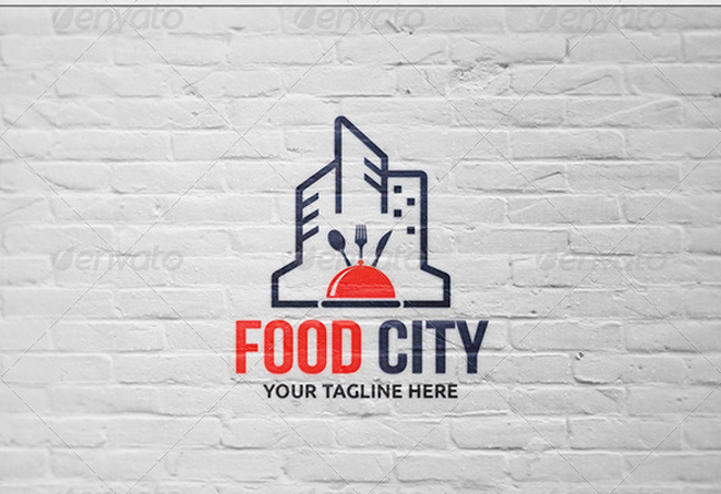 food logo Food City - Logo Template
