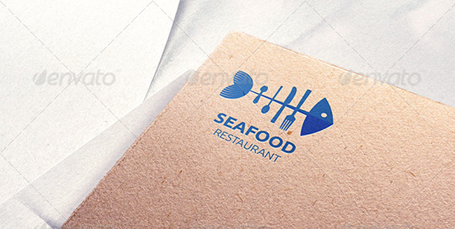 Sea Food Restaurant Logo Template