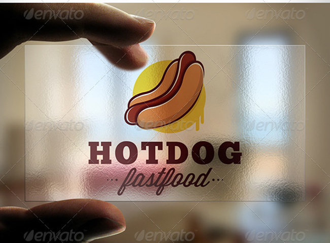 Hot Dog Logo Template