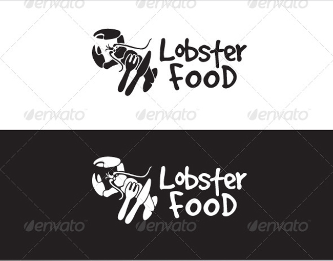 Lobster Food Logo