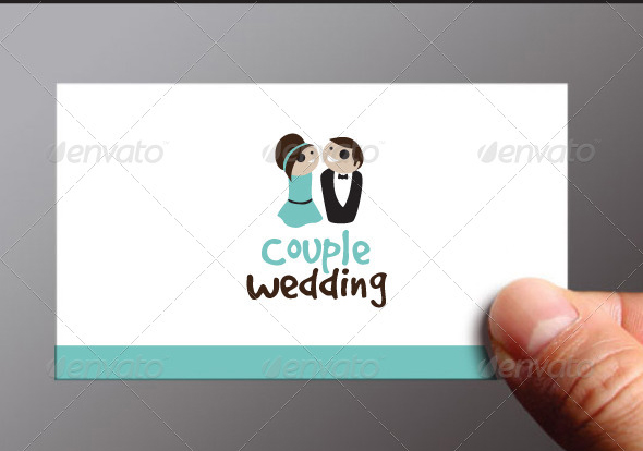 Couple Wedding Logo