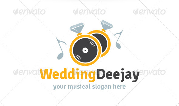 Wedding Deejay Logo
