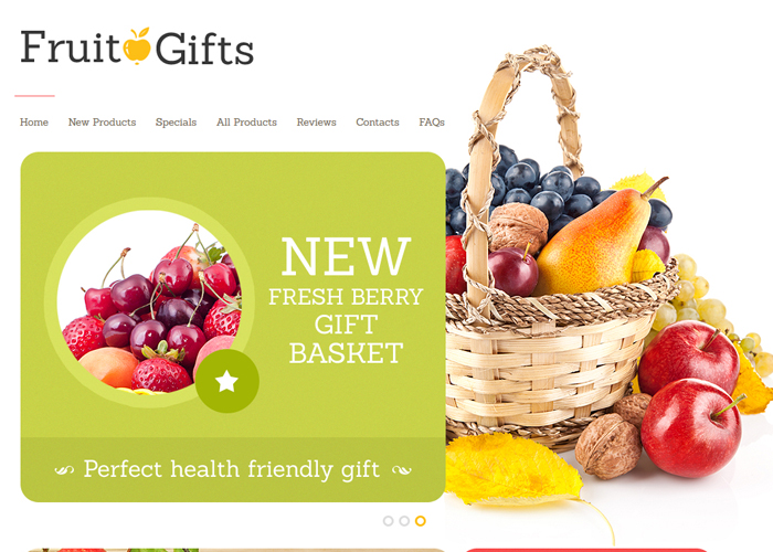 Gifts ZenCart Template