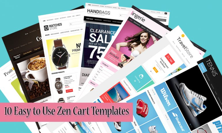 10 Easy to Use Zen Cart Templates