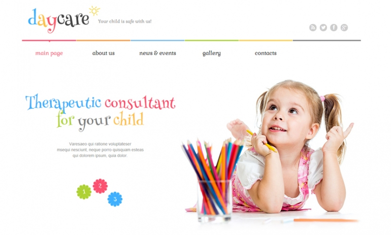 Family WordPress Theme