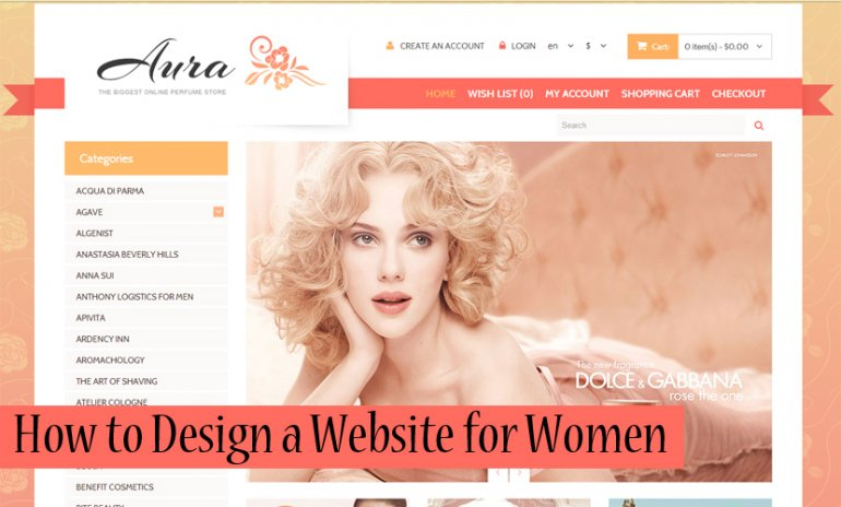 How to Design a Website for Women