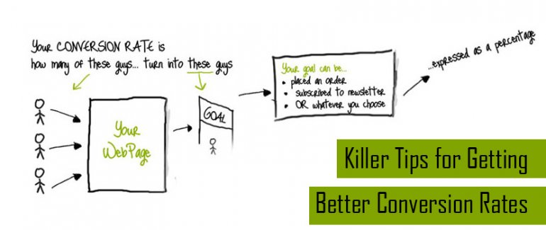 Killer Tips for Getting Better Conversion Rates
