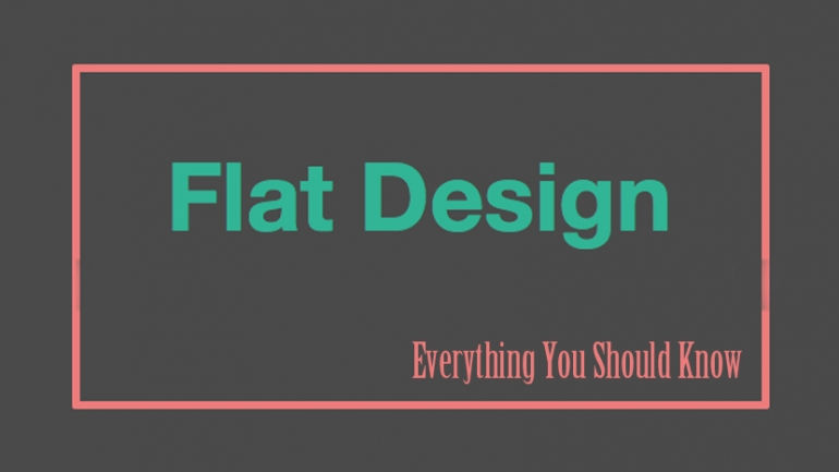 Flat Design: Everything You Should Know