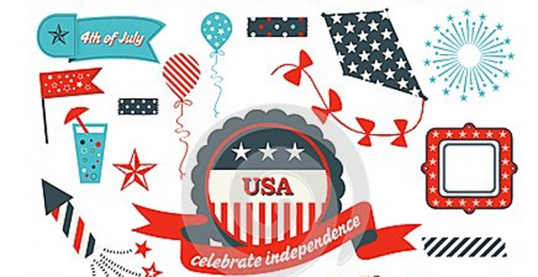 Independence Day free design elements