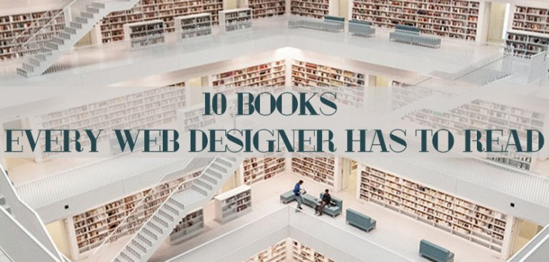 10 Books Every Web Designer Has to Read