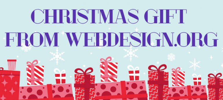 Christmas Gift From Web Design Library - 50% Off All TemplateMonster Web Templates
