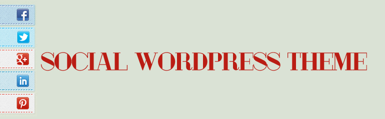 Free WordPress Theme, Optimized for Social