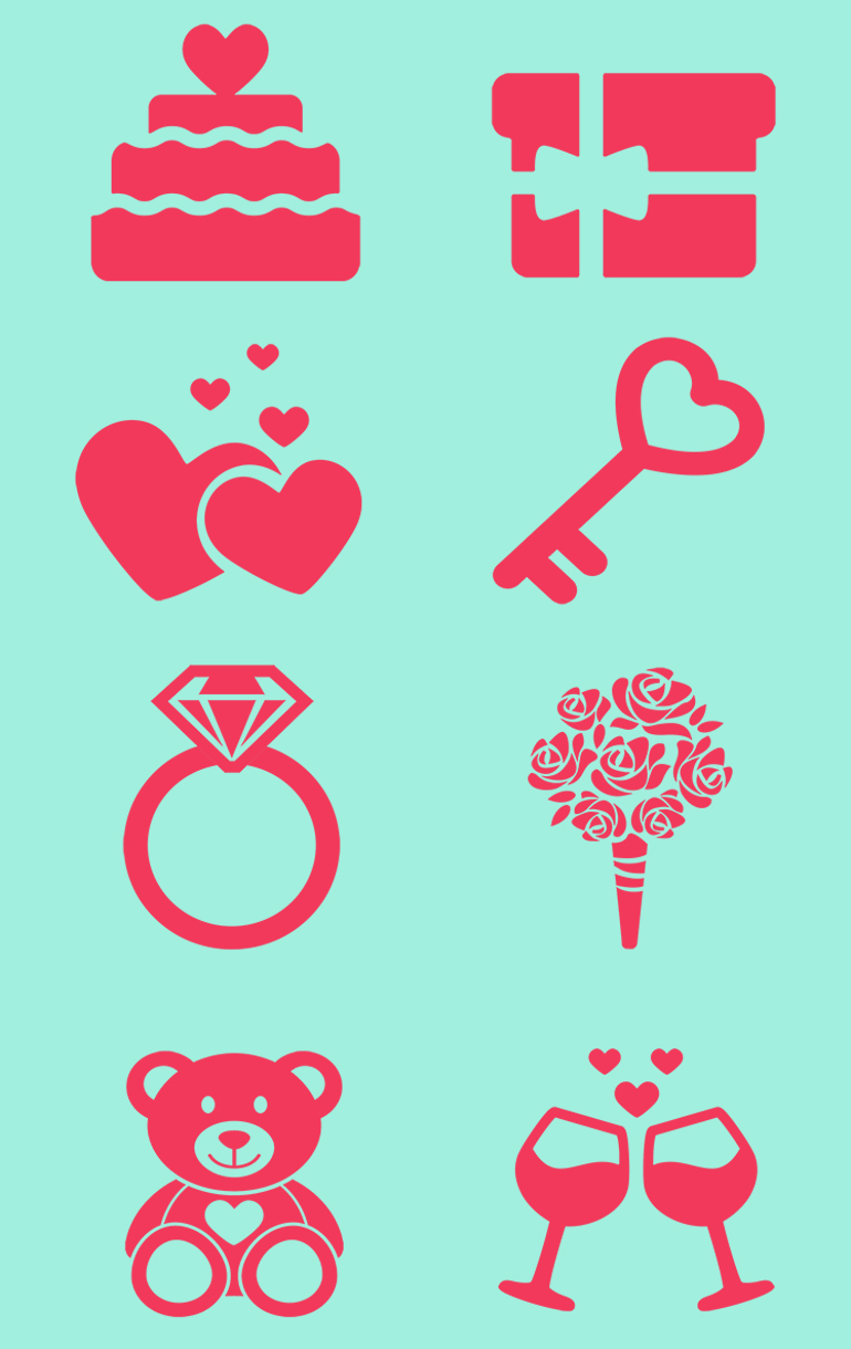 Free Exclusive Valentine's Icons