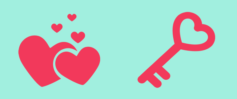 Exclusive Freebies for Valentine's from Web Design Library