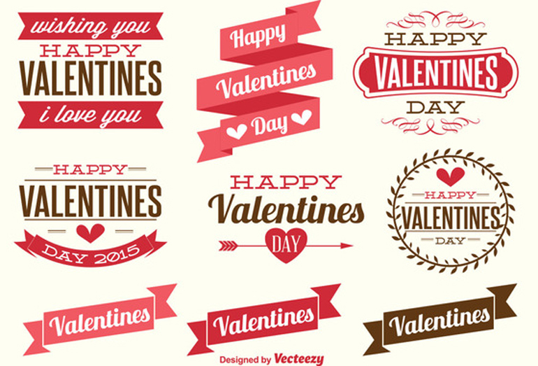 Free Vectors For ValentineS Day  Freebies