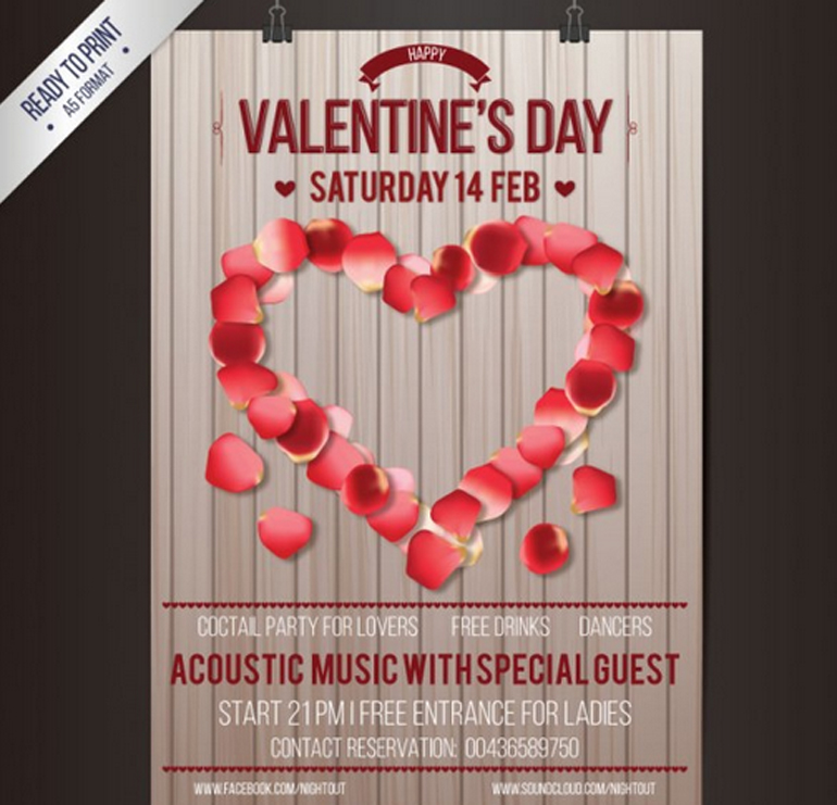 50 Free Vectors For Valentine S Day Freebies