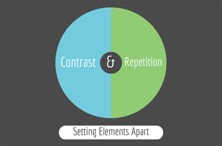 Contrast & Repetition: Setting Elements Apart