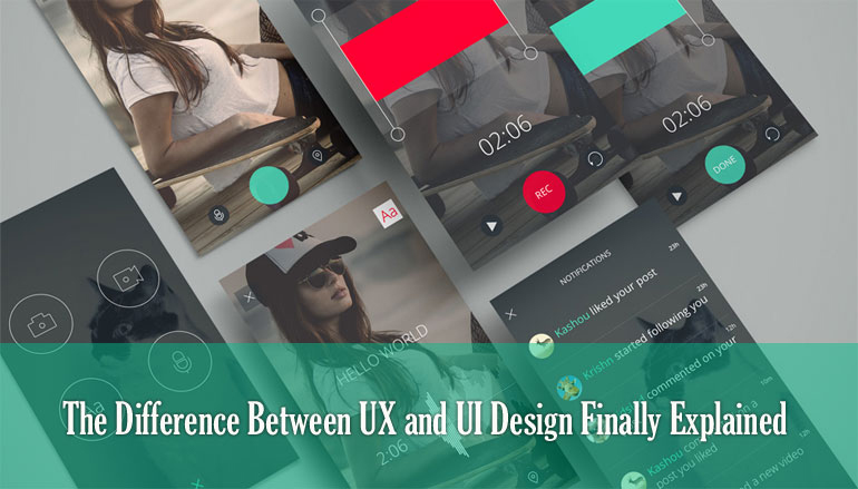 The Difference Between UX and UI Design Finally Explained
