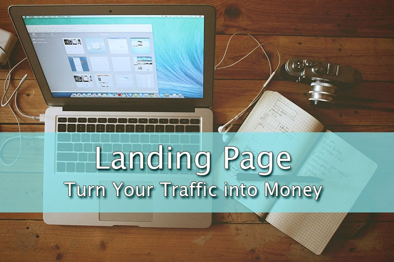 Turn Your Traffic into Money! Get a Landing Page Template Now!