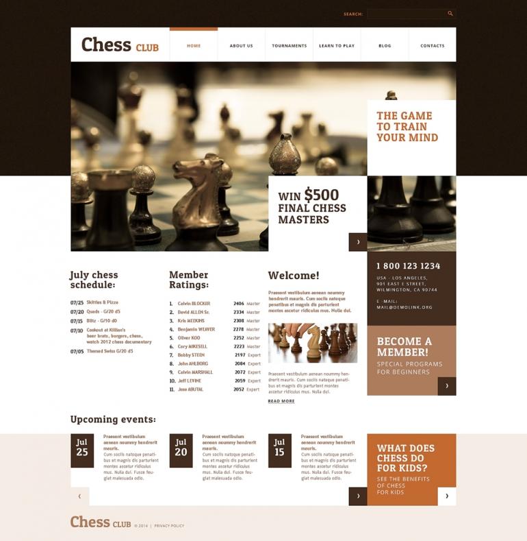 50 Motivating Sport WordPress Themes | Web Template Customization