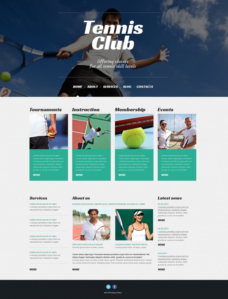 website templates wordpress