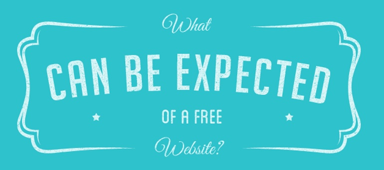 What Can Be Expected Of a Free Website?