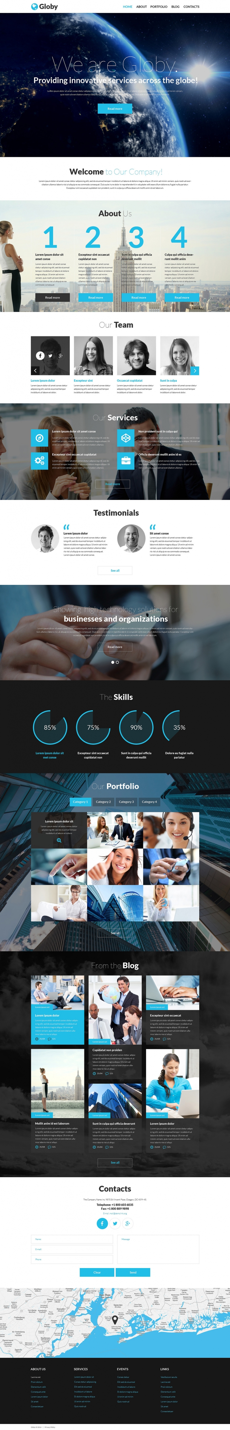 Your Business WordPress Theme