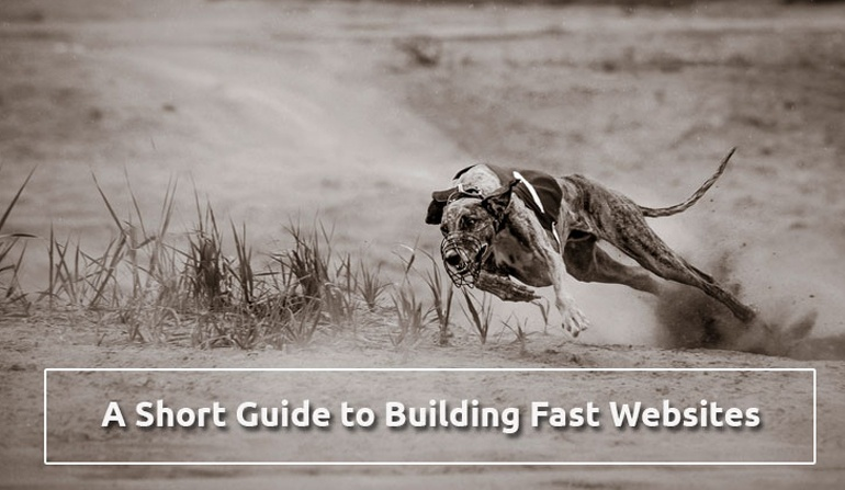 A Short Guide to Building Fast Websites