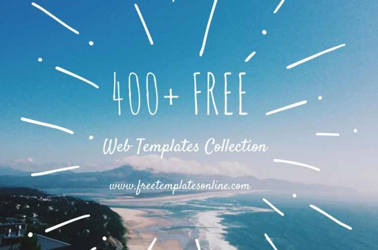 400+ Free Web Templates Collection
