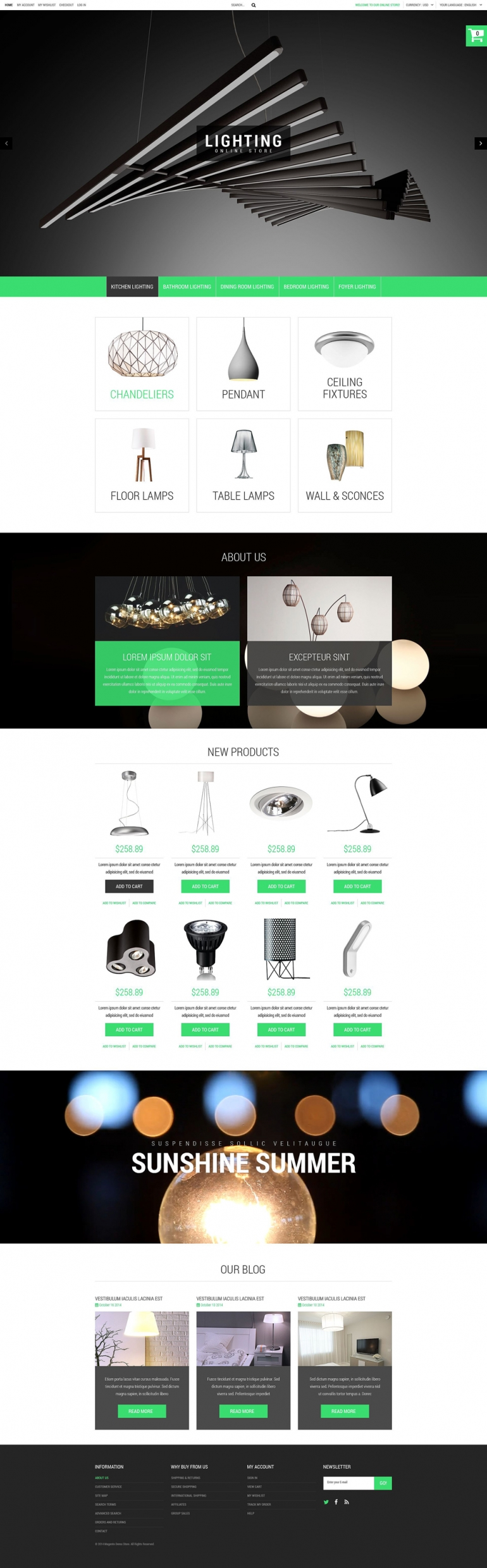 Industrial PrestaShop Theme