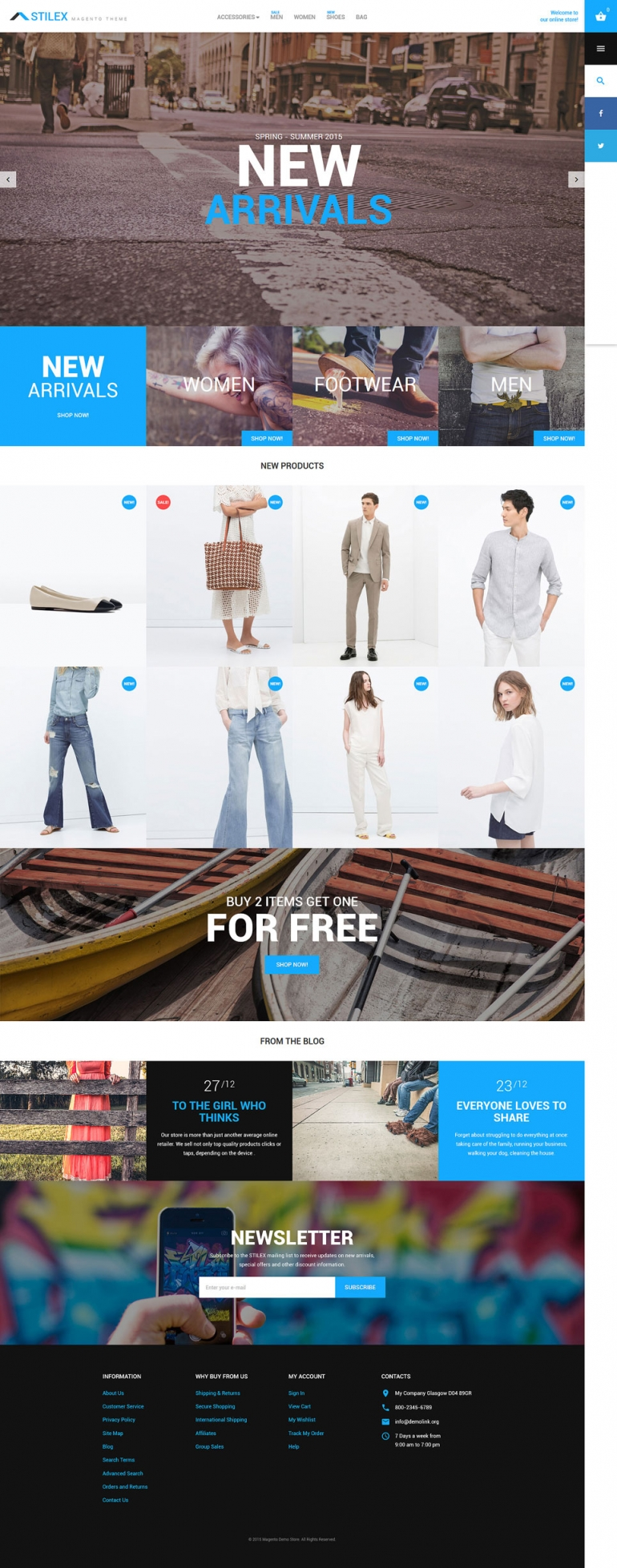 Fashion Magento Theme
