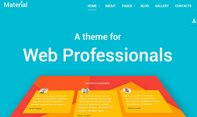 web design studio joomla template