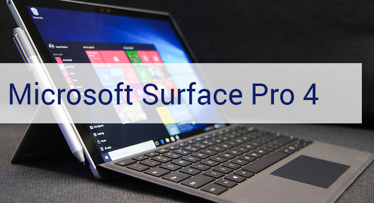 The Wonders of Microsoft Surface Pro 4 for Web Designers