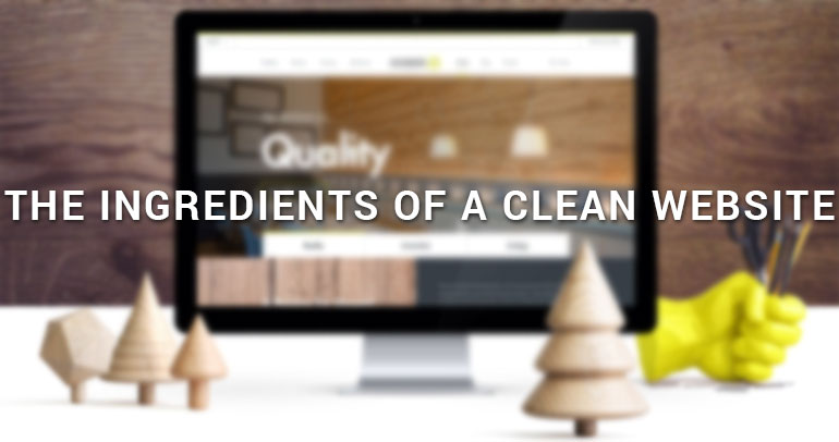 The Ingredients of a Clean Website